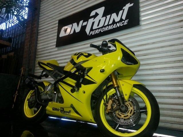 03 04 Kawasaki Zx6r 636 Stunt Cage On Point Performance